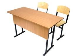 Школьные парты стулья столы шкафы