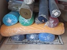 Трикотажные ткани 3 нитка , 2 нитка с начосом, кулирка, интерлок, кашкорсе.