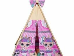 Детская палатка для дома вигвам