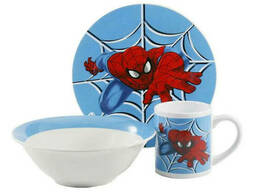 Детская посуда Interos Спайдермен TO-6 3 предмета