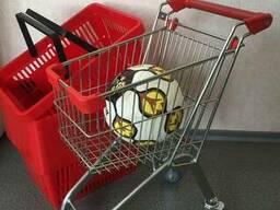 Детская тележка для магазина и супермаркета Юниор.
