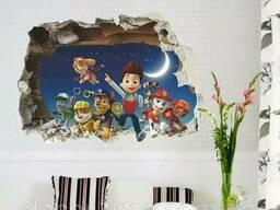 Детские 3D наклейки на стену (020)