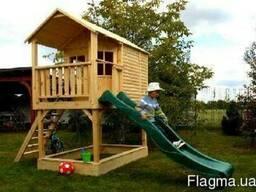 Детские домики. Детские площадки. Строительство