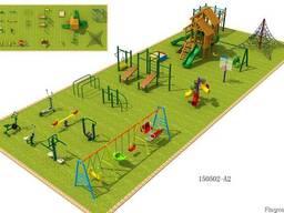 Детские игровое и спортивное оборудование от производителя