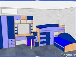 Детские кровати, детская кровать-трансформер, шкаф-кровати