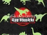 """Детские наклейки на стену""""Динозавры""""светящиеся в темноте 090 - фото 1"""