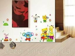 Детские наклейки на стены, для детского сада (069)