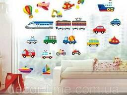 Детские наклейки на стены, для детского сада (079)