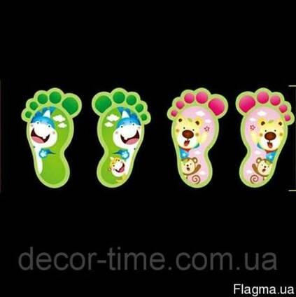 Детские наклейки , светящиеся следы(040)
