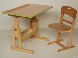 Детские письменные столы и парты для дома