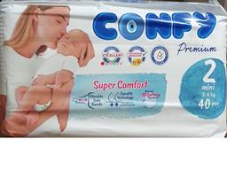 Детские подгузники Confy 2(3-6кг)