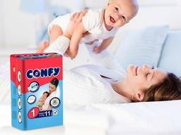 Детские подгузники Confy 4(8-18кг)