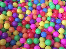 Детские шарики для сухих бассейнов10 штук