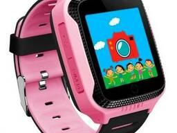 Детские умные часы Smart Baby Watch G900A с GPS, розовые