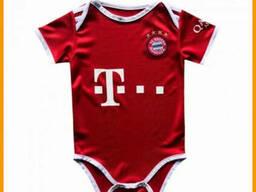 Детский бодик Бавария Мюнхен красный