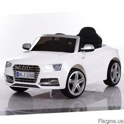Детский электромобиль audi m 3291 eblr-1 - белый