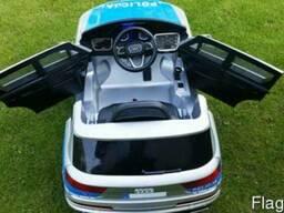 Детский электромобиль AUDI Q7- Полицейский - фото 2