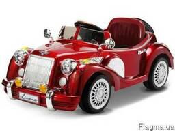 Детский электромобиль Bentley Limousine Красный - фото 1