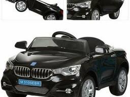 Детский электромобиль BMW M 3105 EBR-2- Черный