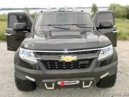 Детский электромобиль Chevrolet 1602, джип с EVA колёсами и