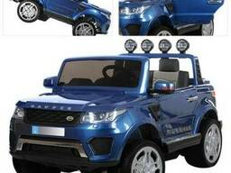 Детский электромобиль джип Bambi M 3273EBLRS-4 Синий лак