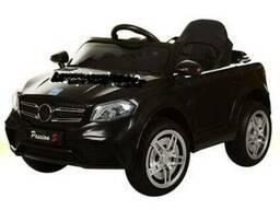 Детский электромобиль Джип M 3181, кож. сиденье