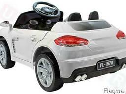 Детский электромобиль FL 1678:- Белый - фото 2