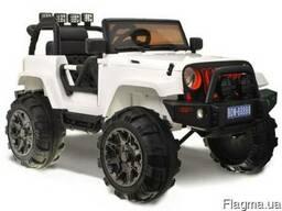 Детский электромобиль jeep hellcat: - Белый