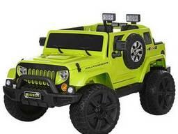 Детский электромобиль JEEP M 3445 EBLR-5- зеленый