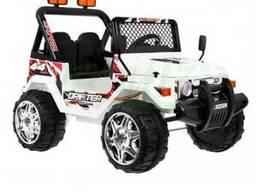 Детский электромобиль Jeep S618B- Белый