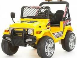 Детский электромобиль Jeep S618B- Желтый
