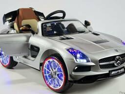 Детский электромобиль Mercedes-Benz SLS SX812. Лак металик