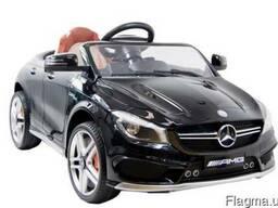 Детский электромобиль Mercedes cla :- Чёрный