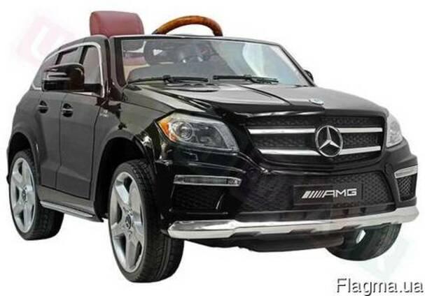Детский электромобиль Mercedes GL 63 VIP:- BLACK PAINT