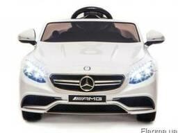 Детский электромобиль Mercedes sl63 - белый