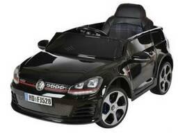 Детский электромобиль volkswagen golf - черный