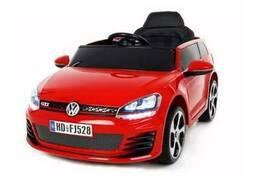 Детский электромобиль volkswagen golf :красный