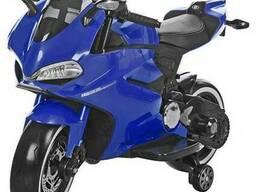 Детский мотоцикл М 3467EL-4– СИНИЙ