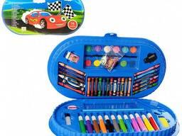 Детский набор для творчества MK 3918-1 в чемодане (Машинка)