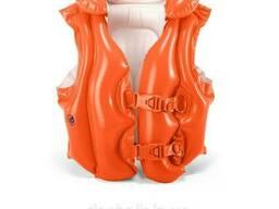 Детский надувной жилет Intex 58671 «Люкс», 50 х 47 см Красный