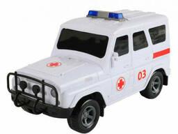 """Детский Сейф-копилка """"Машинка"""" METR+ с кодовым замком (Скорая Помощь) (JH1989-F(White))"""