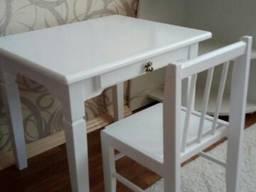 """Детский столик из натурального дерева комплект """"Белоснежка"""""""