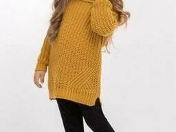 Детский теплый свитер 104-110, 110-116, 116-122 размеры. ..