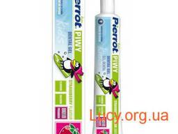 """Детский зубной гель с клубничным вкусом """"Пиви"""" – Pierrot. .."""