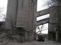Действующее производство бетона, склады сыпучих, жд тупики,
