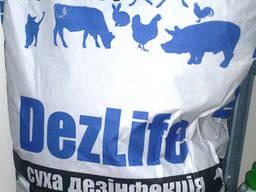 Дезлайф, сухая дезинфекция
