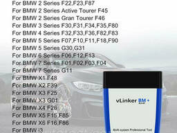 Диагностический Автосканер Vgate vLinker BM WIFI ELM327 V2.2 BMW Bimmercode BimmerLink