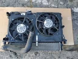 Диффузор радиатор Audi A3 2.0 tdi 1ko145803 в сборе как на фото