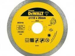 Диск алмазный 110х8мм для плиткореза dwc410 dewalt dt3715