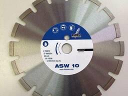 Диск алмазный Lissmac ASW-10, 300, 25, 4 асфальт
